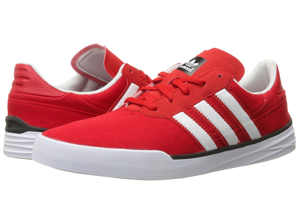 adidas Skateboarding - Triad (Scarlet/White/Scarlet) Men's Skate Shoes