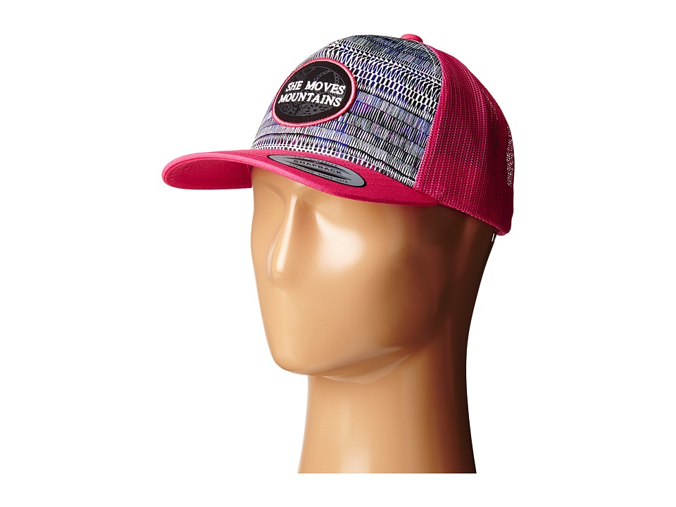 Prana - True North Trucker (Azalea) Baseball Caps