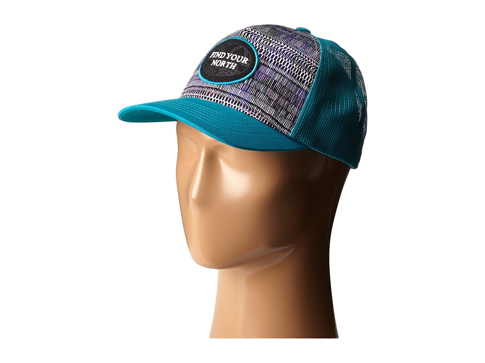 Prana - True North Trucker (Cove) Baseball Caps