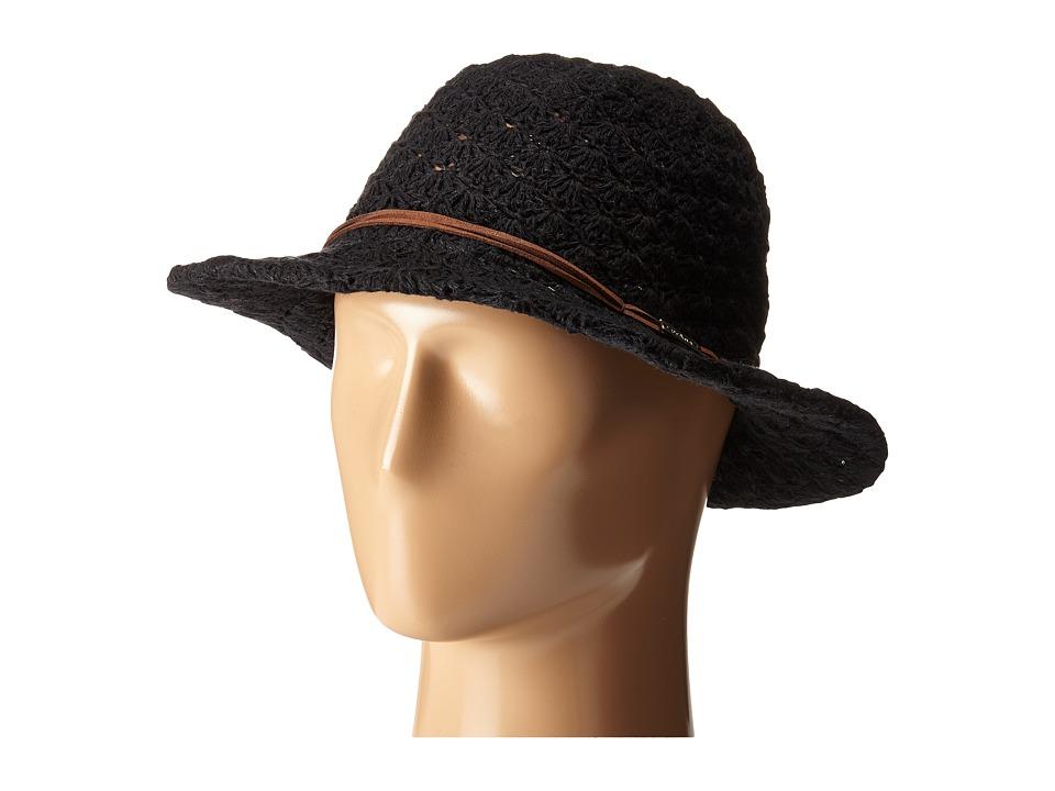 Prana - Clea Fedora (Black) Fedora Hats