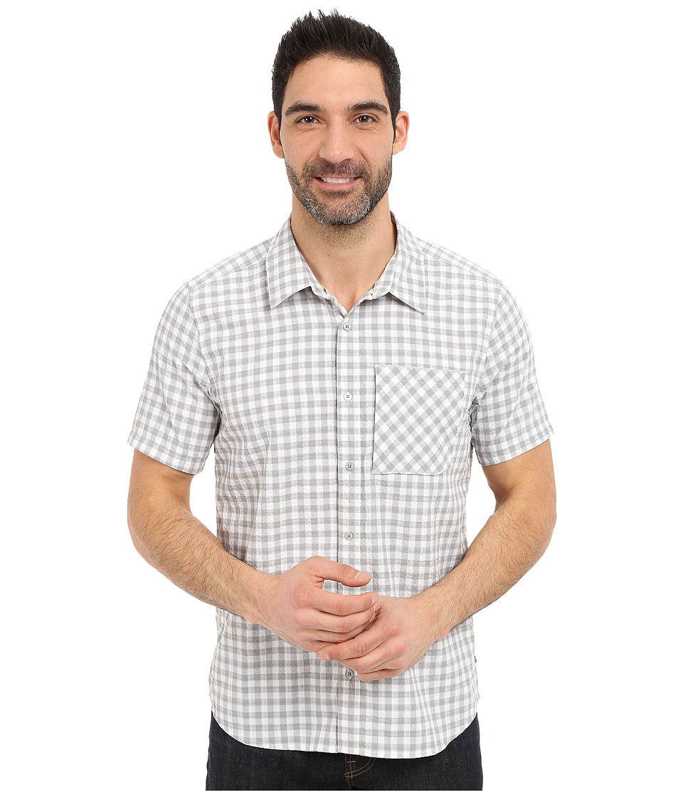 Toad&Co - Pilotlight Short Sleeve Shirt (Light Ash) Men's Short Sleeve Button Up