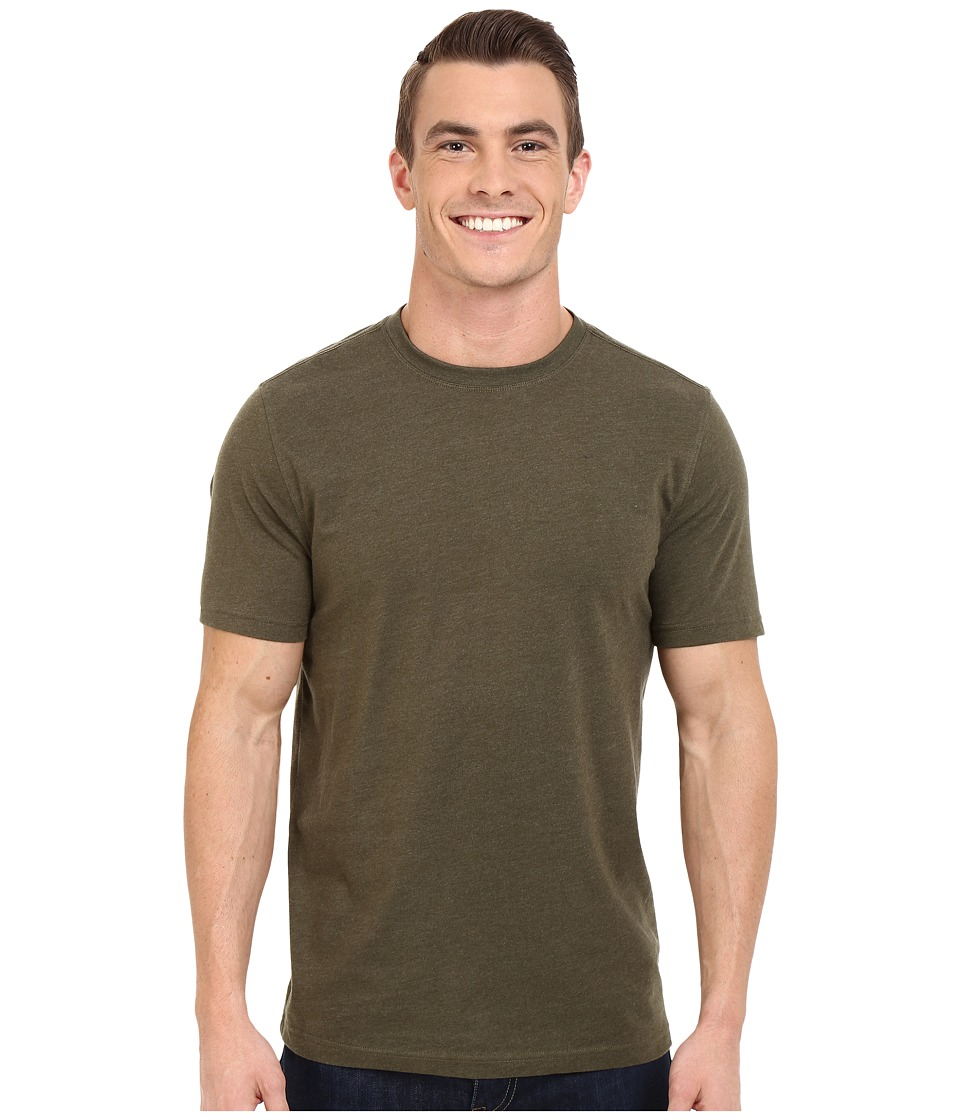Toad&Co - Motile Short Sleeve Crew (Dark Moss) Men's T Shirt