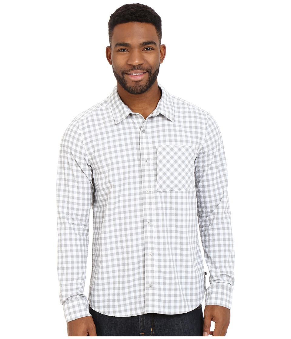 Toad&Co - Debug UPF Lightness Shirt (Light Ash) Men's Long Sleeve Button Up