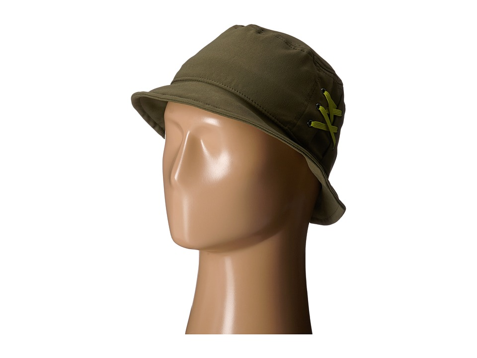Prana - Zion Bucket Hat (Cargo Green) Traditional Hats