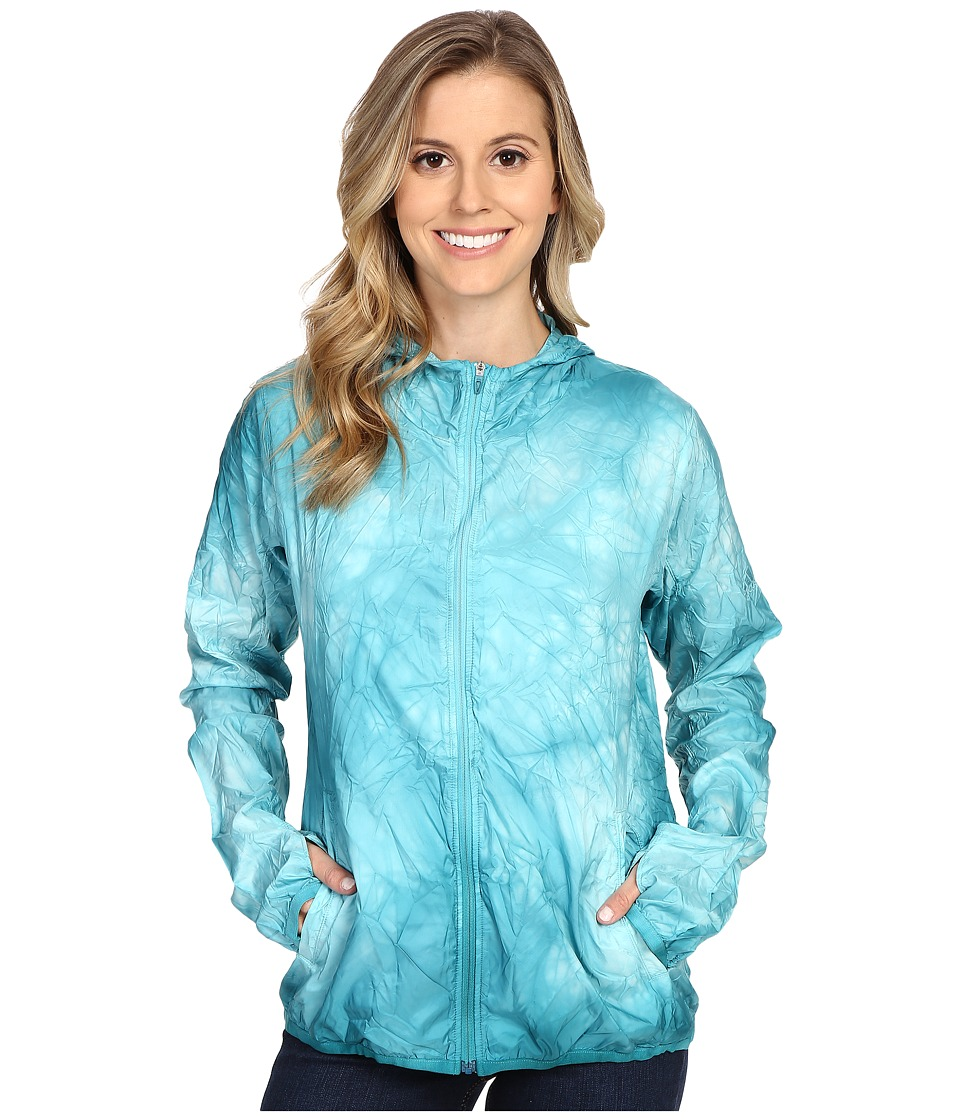 adidas - Kanoi Runpack Dye Jacket (Shock Green) Women's Coat