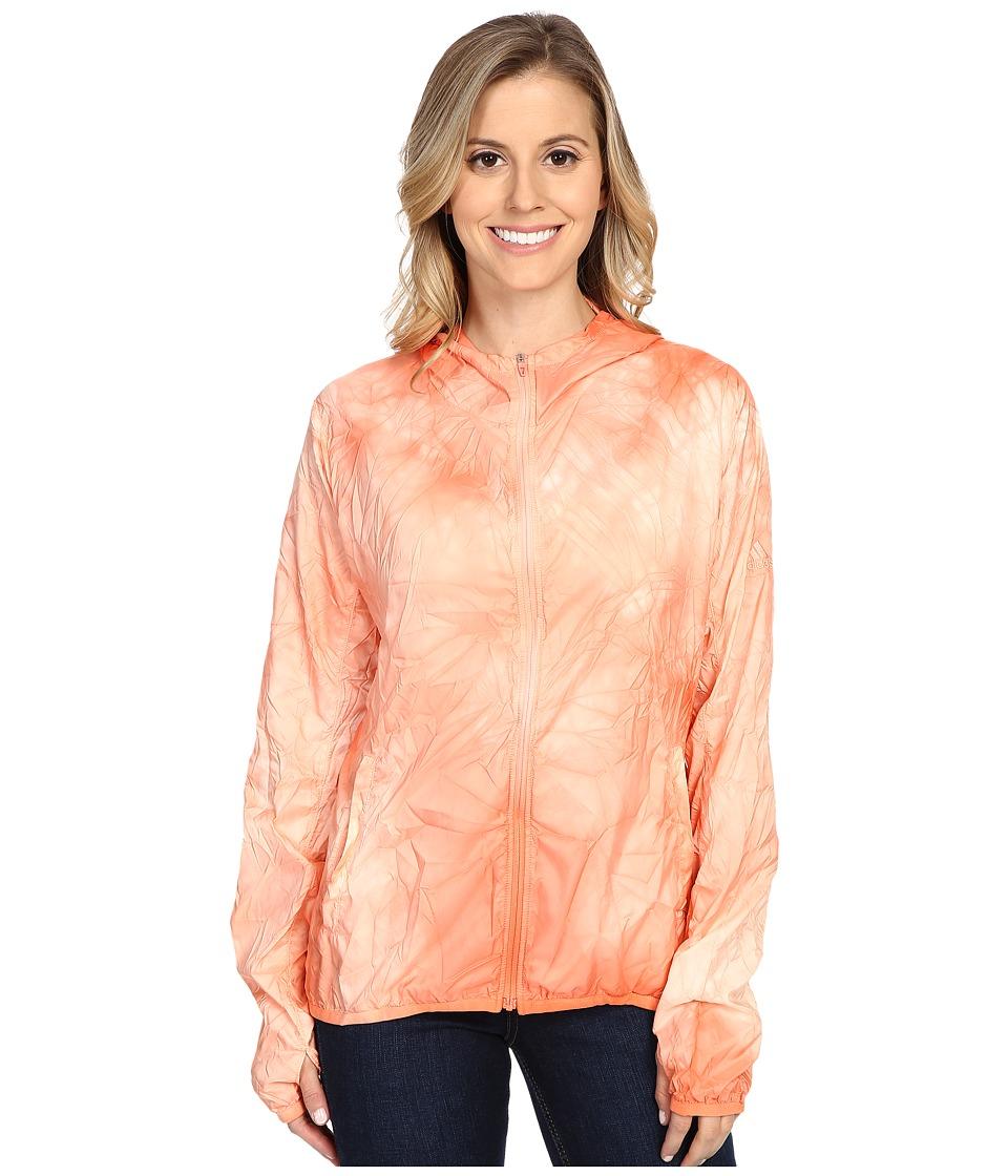 adidas - Kanoi Runpack Dye Jacket (Sun Glow) Women's Coat