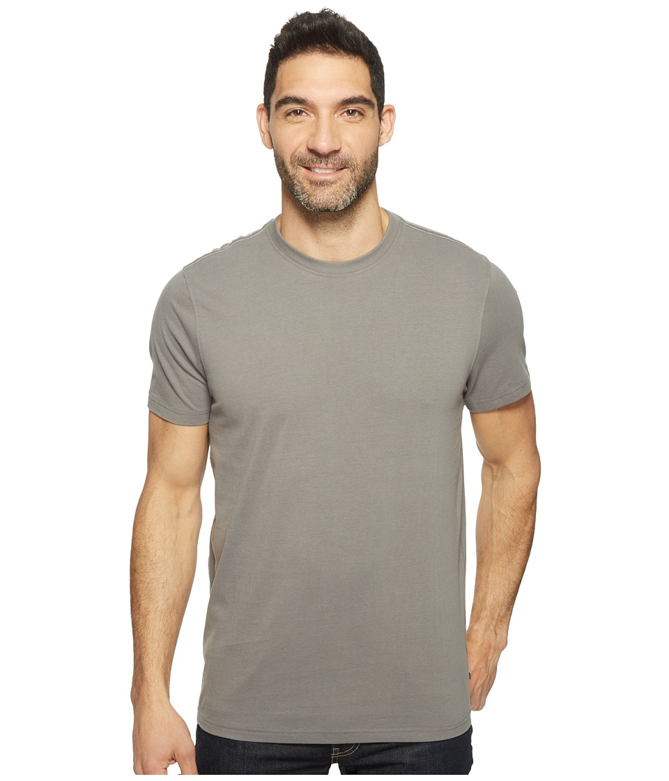 Toad&Co - Peter S/S Tee (Smoke) Men's Short Sleeve Pullover