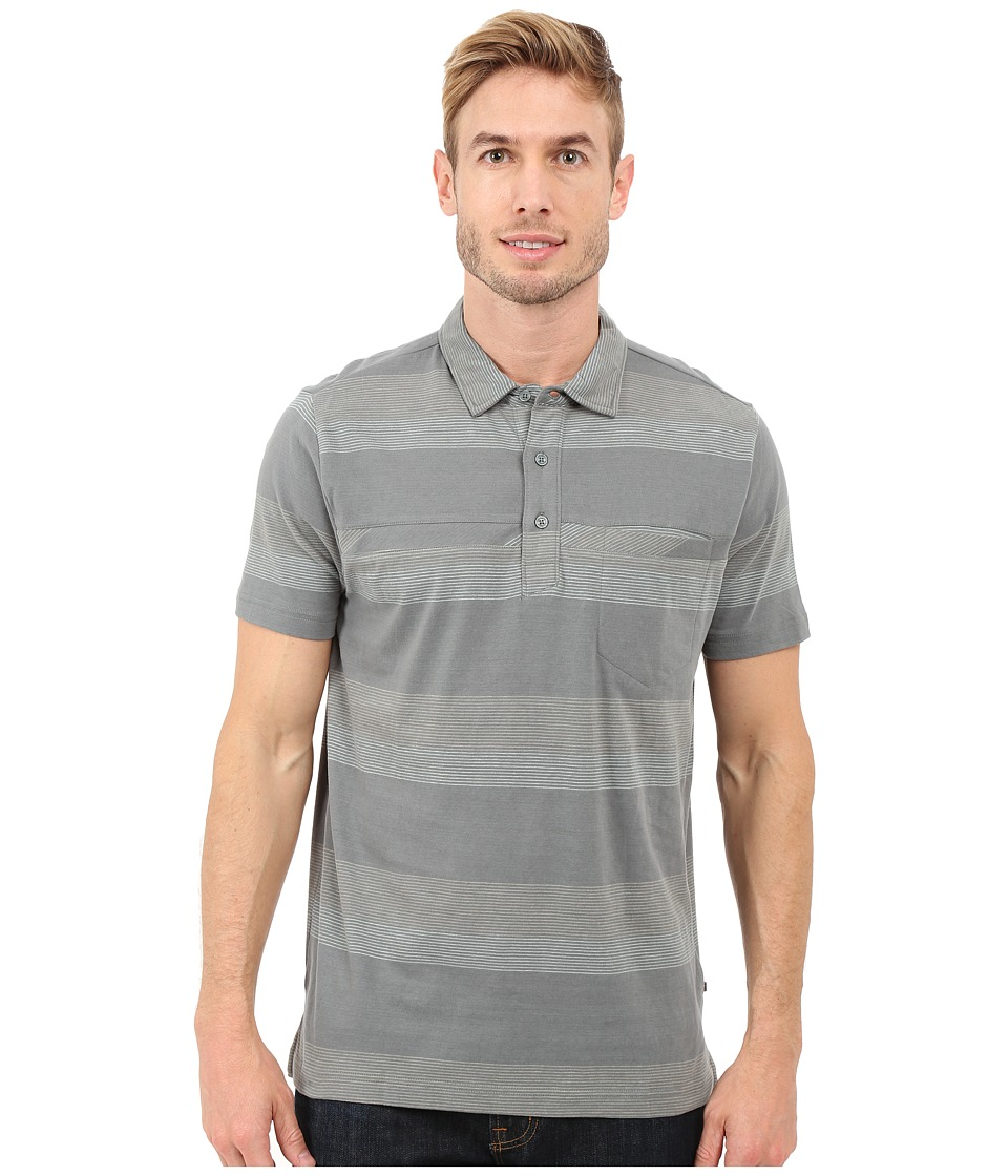 Toad&Co - Jack S/S Polo Shirt (Pine) Men's Short Sleeve Knit