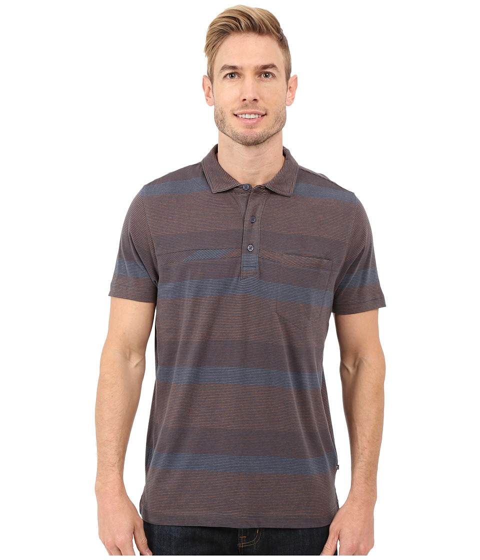Toad&Co - Jack S/S Polo Shirt (Nightsky) Men's Short Sleeve Knit