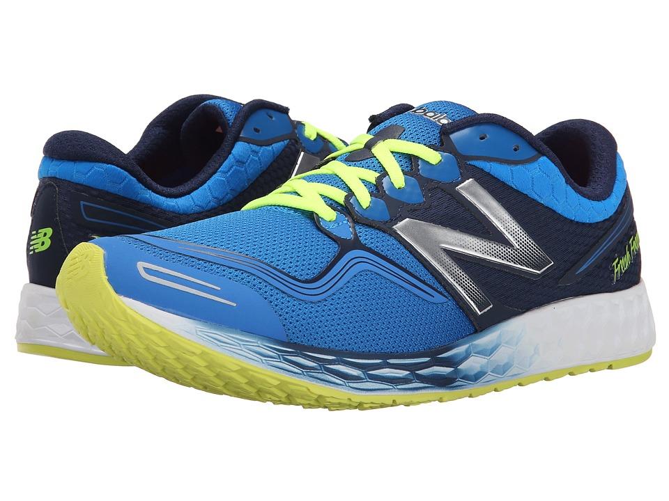 New Balance - Fresh Foam Zante (Blue/Yellow) Men's Shoes