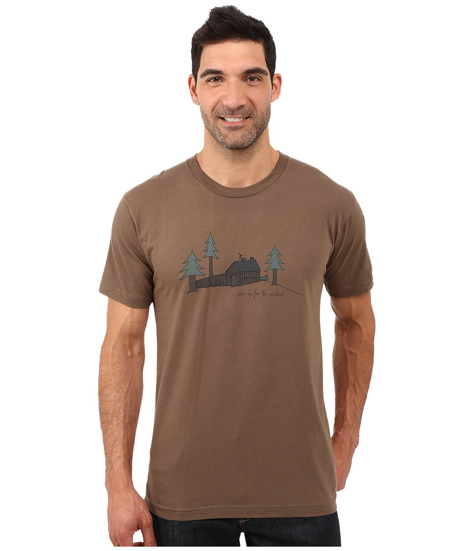 Toad&Co - Weekend Cabin Short Sleeve Tee (Jeep) Men's T Shirt