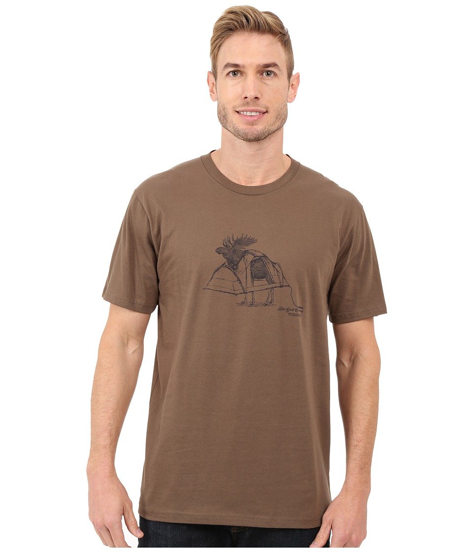 Toad&Co - Shelter Short Sleeve Tee (Jeep) Men's T Shirt