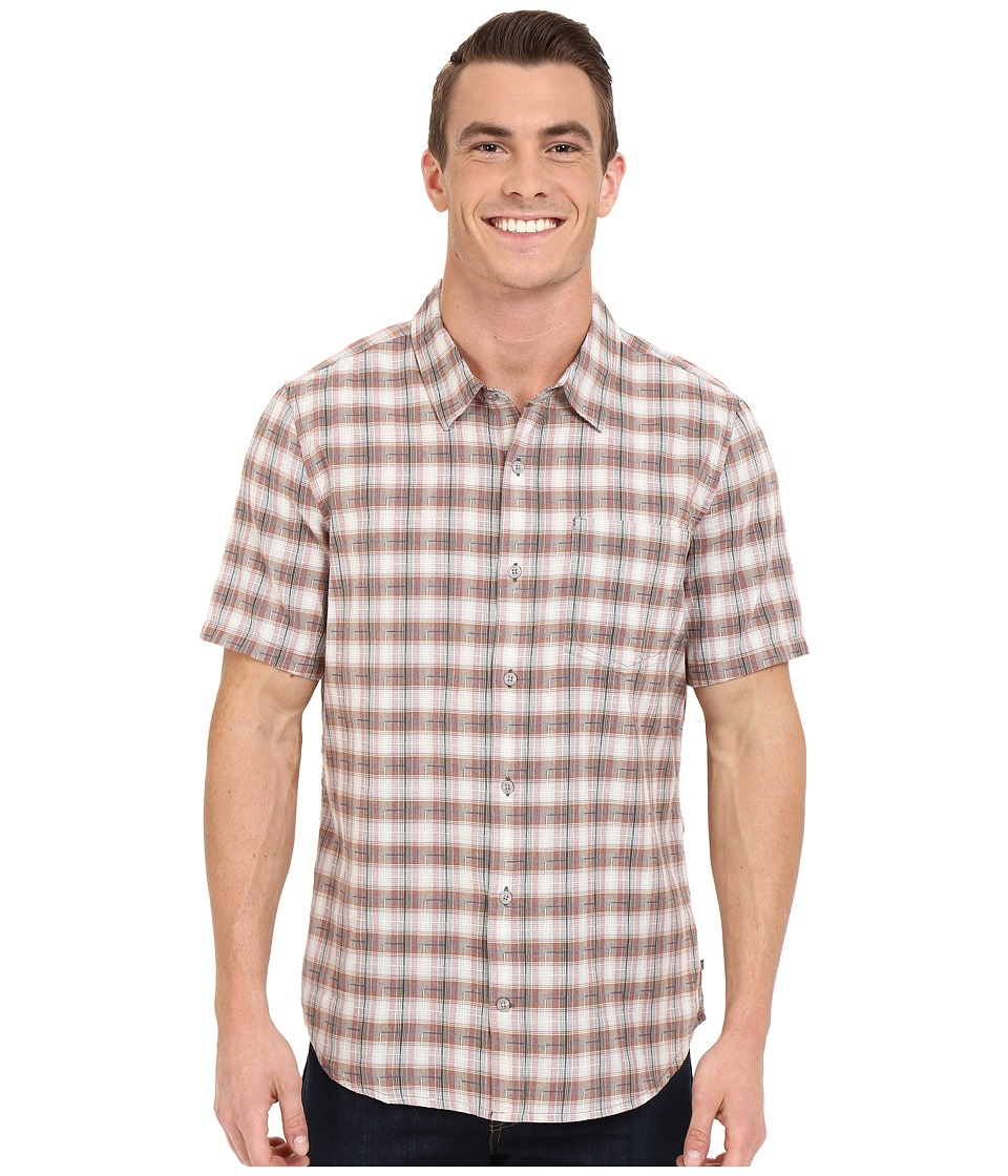 Toad&Co - Open Air S/S Shirt (Dark Graphite) Men's Short Sleeve Button Up