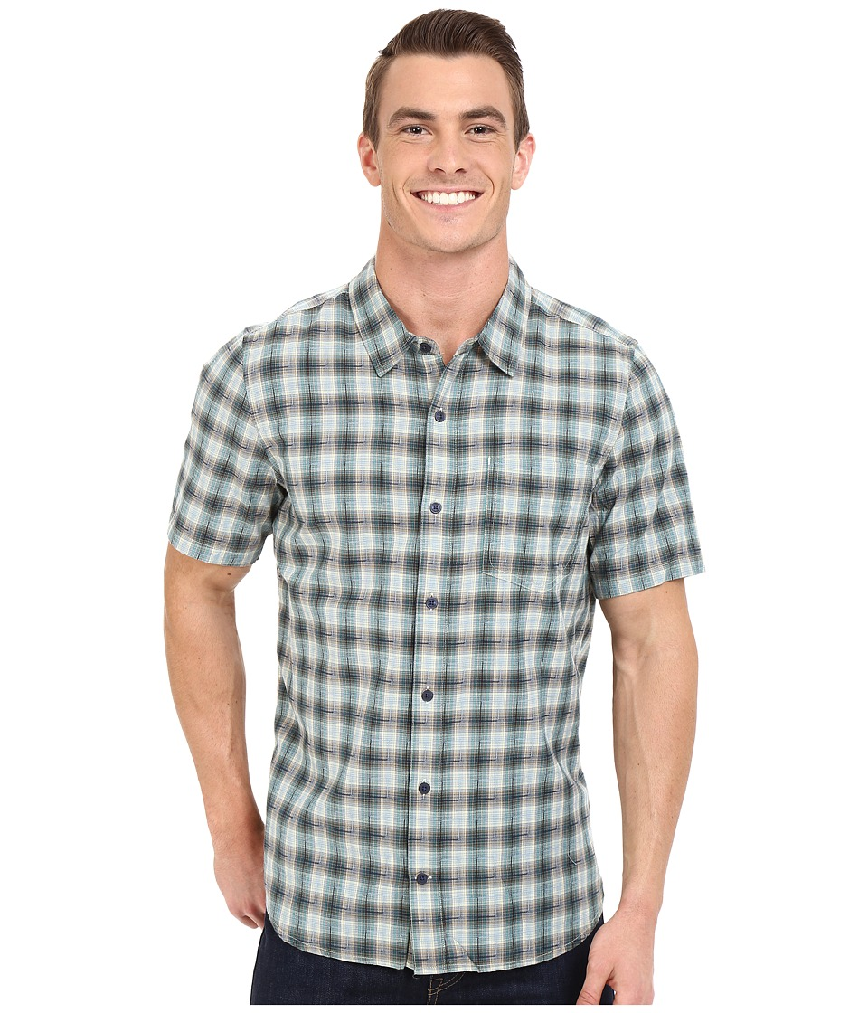 Toad&Co - Open Air S/S Shirt (Mallard) Men's Short Sleeve Button Up
