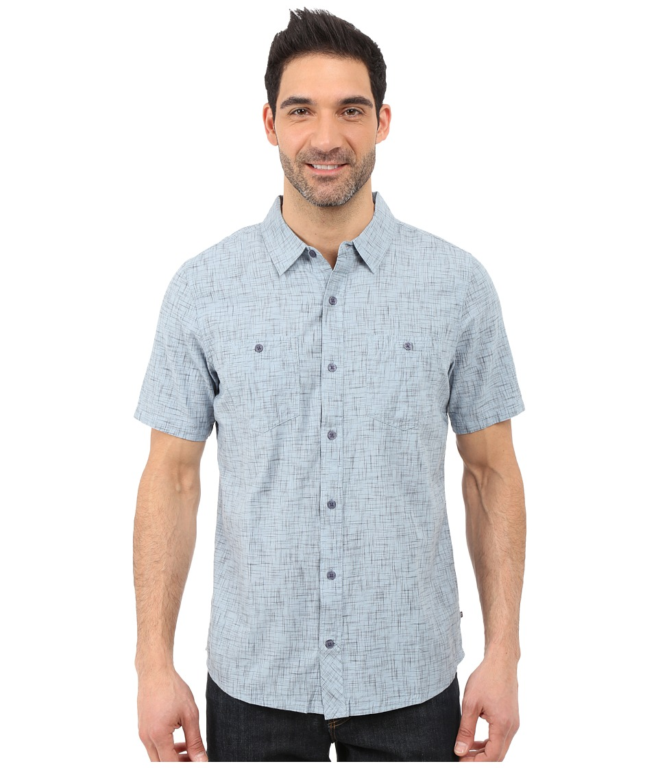 Toad&Co - Smythy S/S Shirt (Weathered Blue) Men's Short Sleeve Button Up