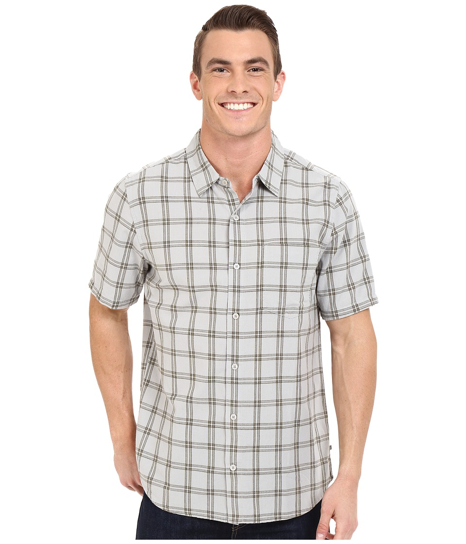 Toad&Co - Aircooled Short Sleeve Shirt (Chrome) Men's Short Sleeve Button Up