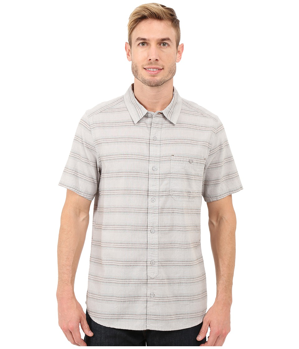 Toad&Co - Hardscape S/S Shirt (Light Ash) Men's Short Sleeve Button Up