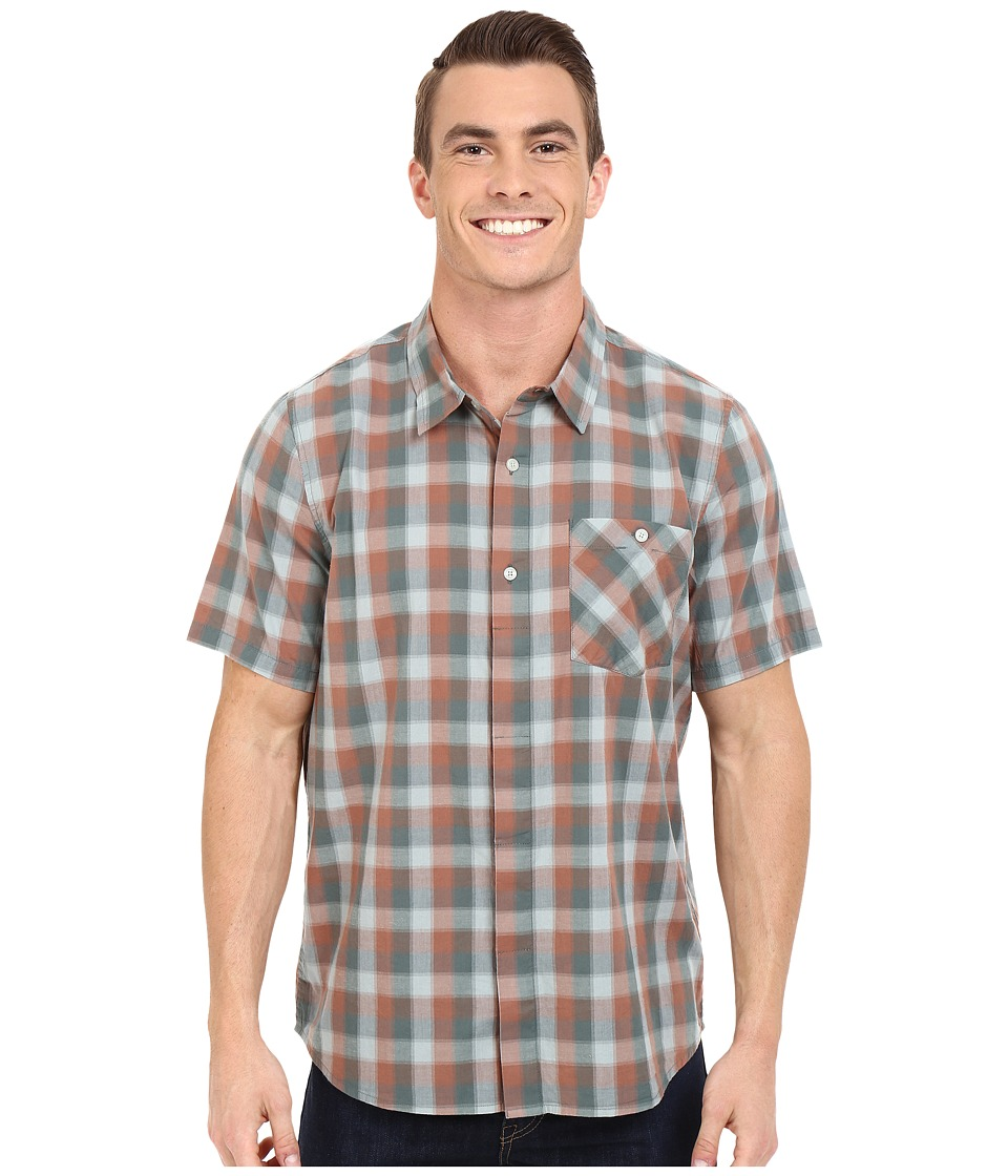 Toad&Co - Maneuver Short Sleeve Shirt (Pine) Men's Short Sleeve Button Up