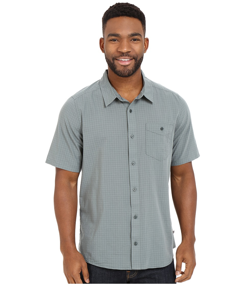 Toad&Co - Airbrush S/S Shirt (Pine) Men's Short Sleeve Button Up