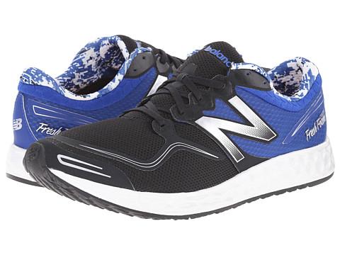 New Balance - Fresh Foam Zante (Black/Blue) Men's Shoes