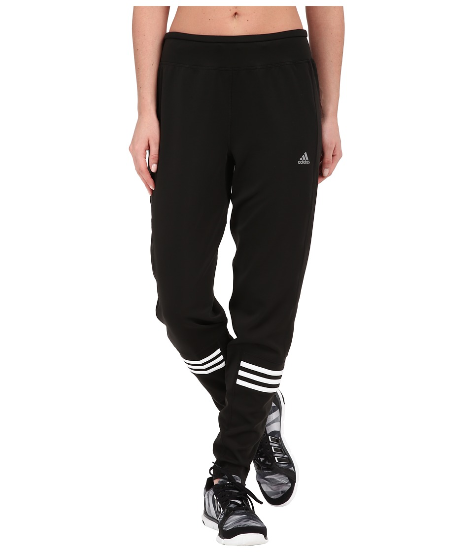 adidas - Response Astro Pants (Black/White/Matte Silver) Women's Casual Pants