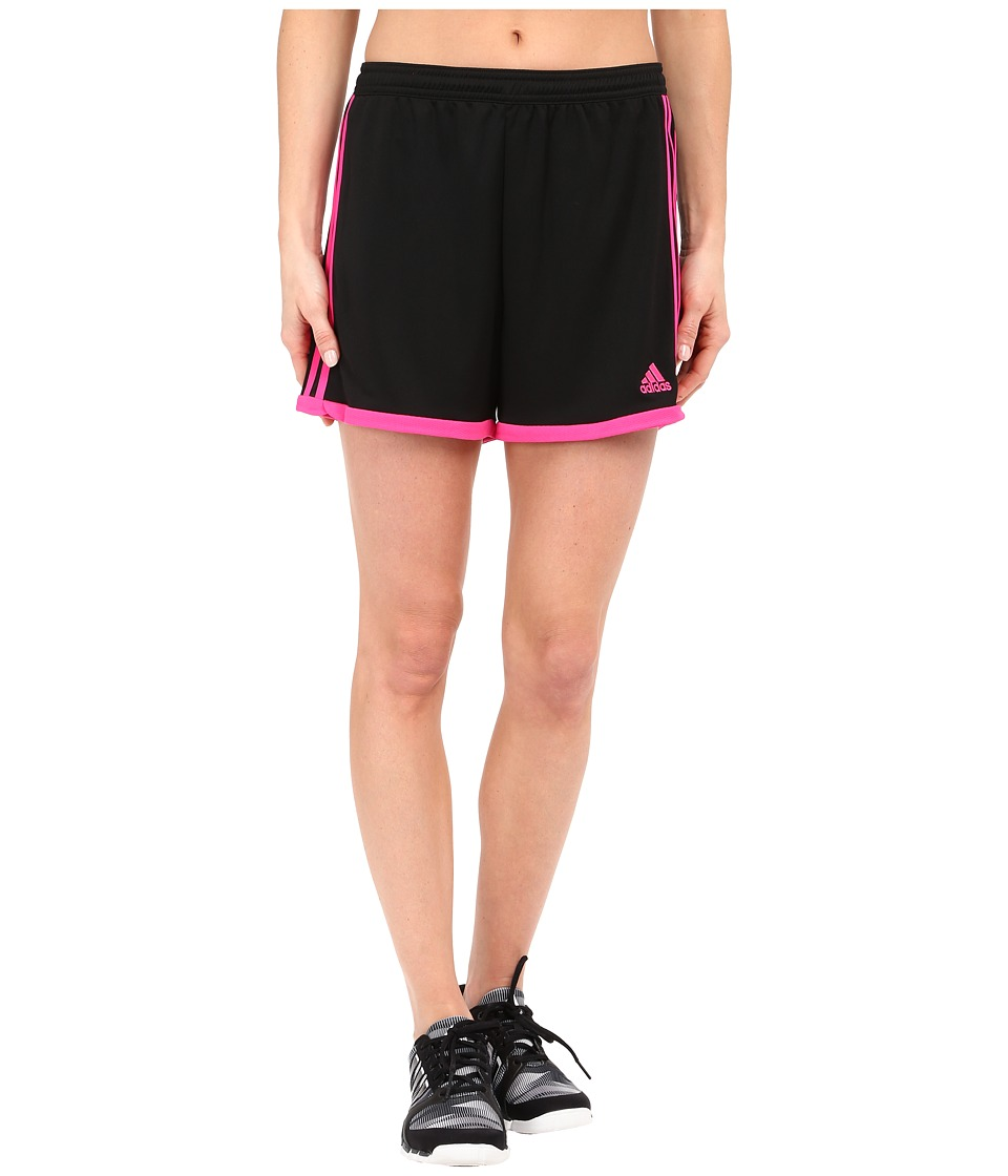adidas - Tastigo 15 Knit Short (Black/Shock Pink) Women's Shorts