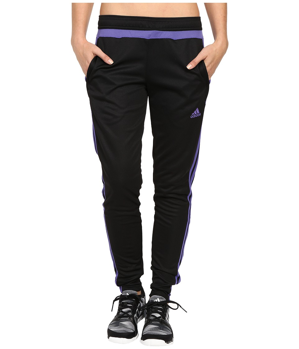 adidas - Tiro 15 Training Pant (Black/Purple) Women's Casual Pants