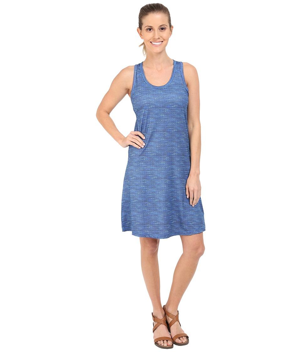 Columbia - Saturday Trail II Knit Dress (Stormy Blue Print) Women's Dress