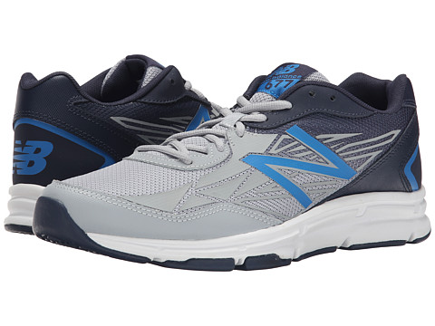 New Balance - Transition Trainer (Grey/Blue) Men's Shoes