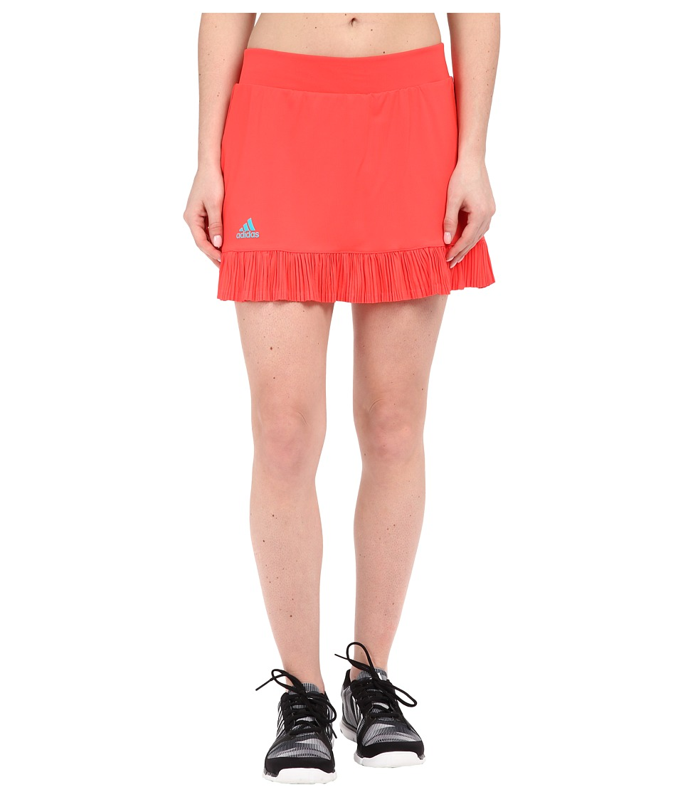adidas - adizero Skorts (Shock Red/Shock Green) Women