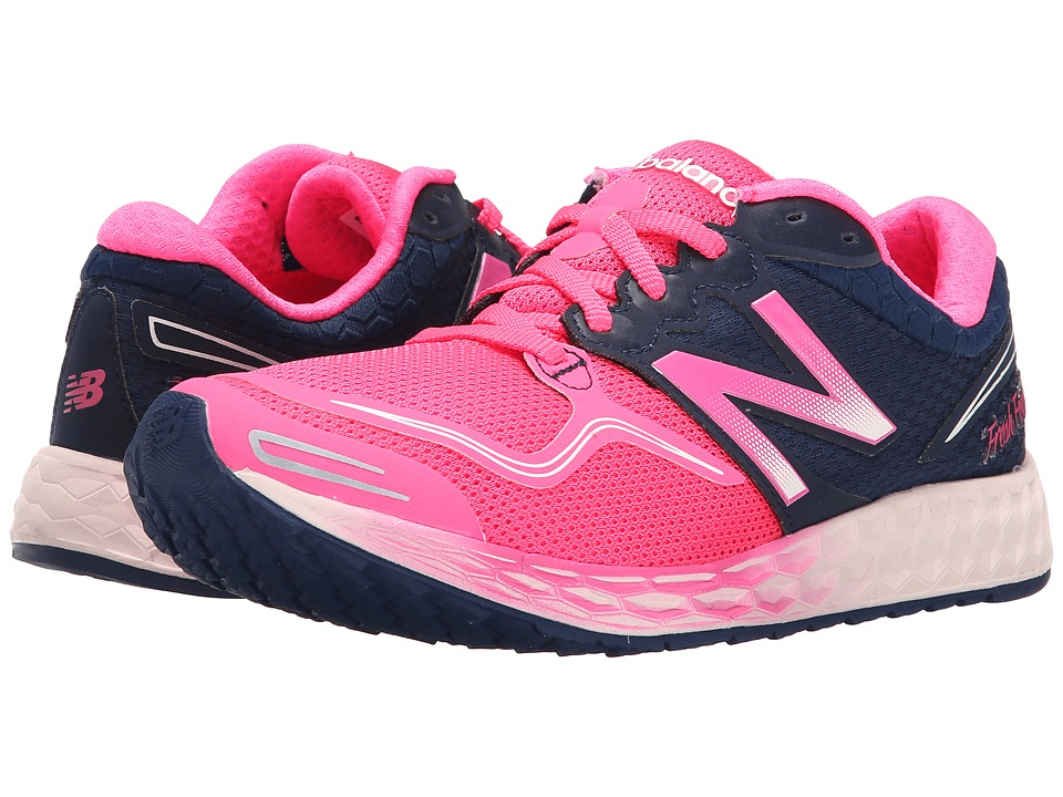 New Balance - Fresh Foam Zante (Pink/Navy) Women's Shoes