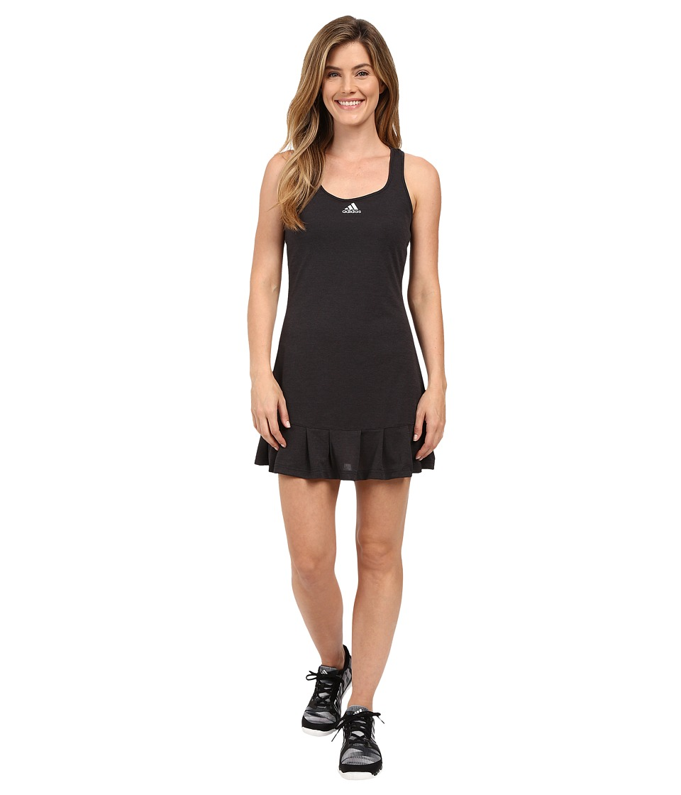 adidas - ClimaChill Dress (Chill Black Melange/Mid Grey) Women's Dress