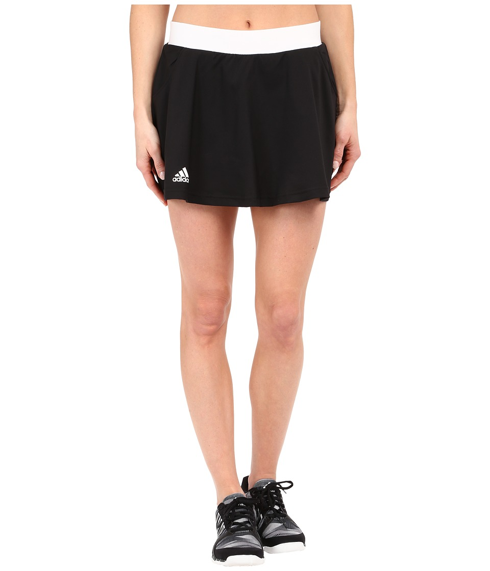 adidas - Club Skorts (Black/White) Women's Skort