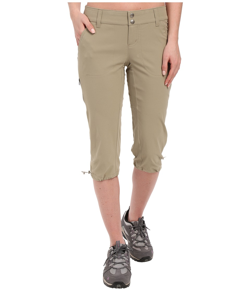 Columbia - Saturday Trail II Knee Pant (Tusk) Women's Capri