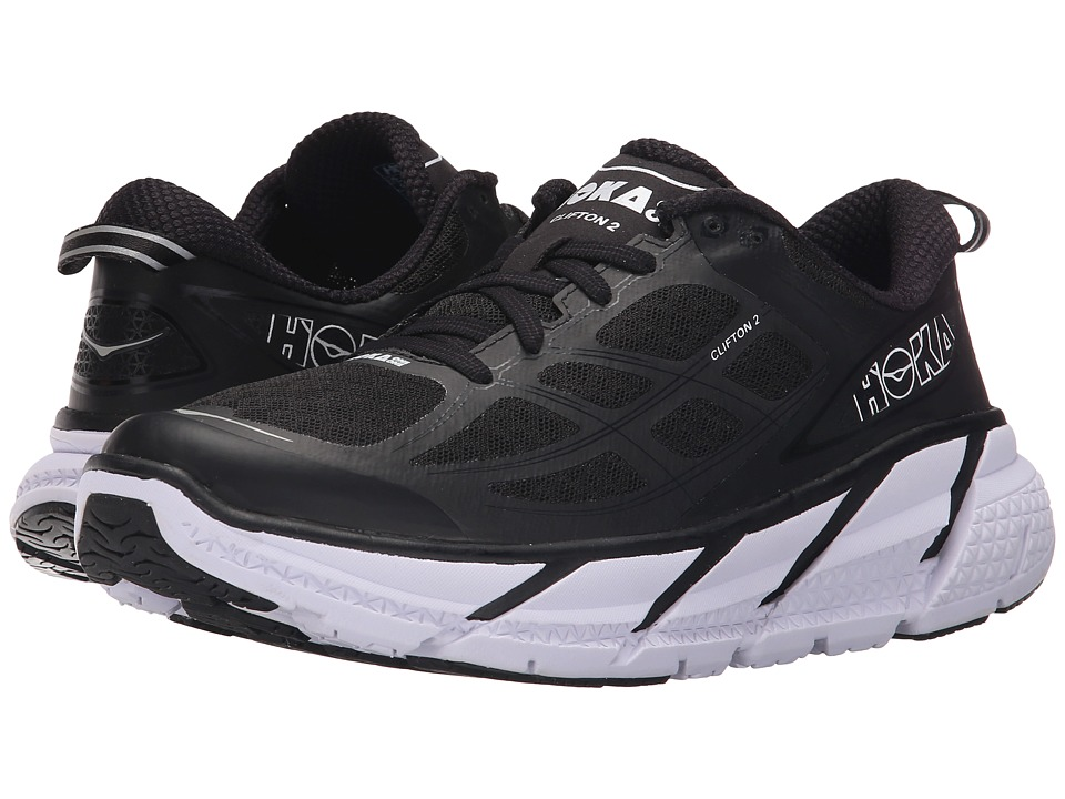 Hoka One One - Clifton 2 (Black/Anthracite) Women's Running Shoes