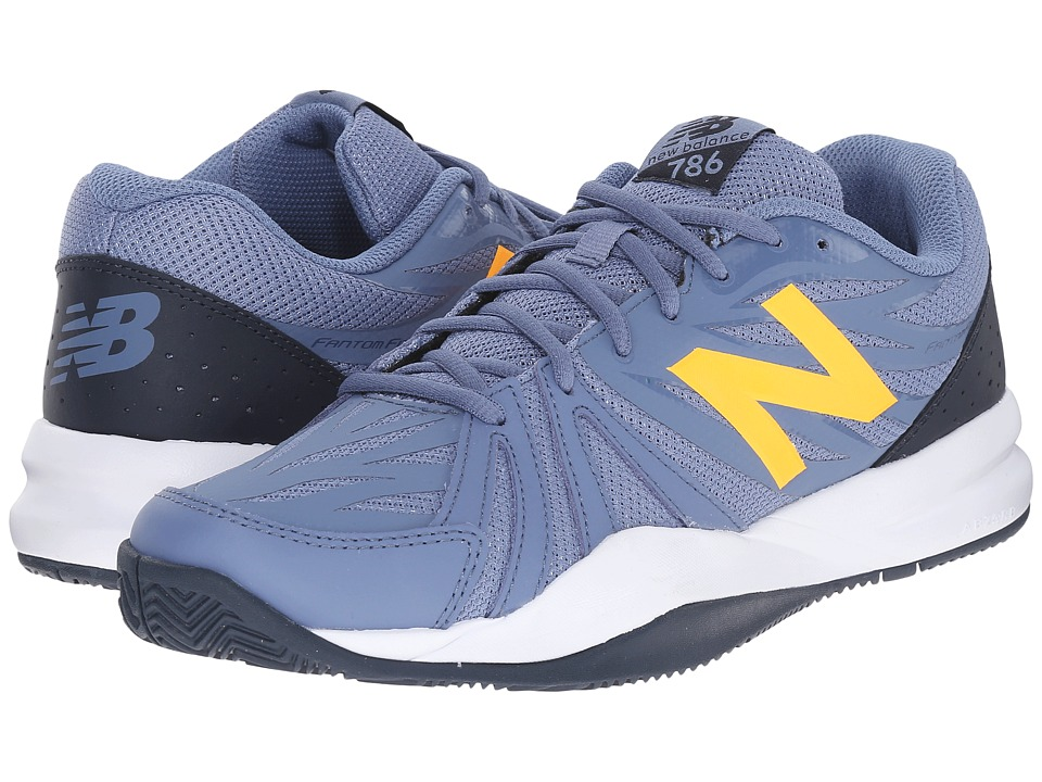 New Balance - MC786v2 (Grey/Yellow) Men's Shoes