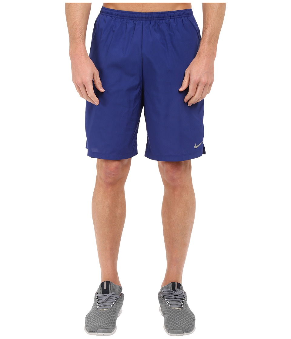 Nike - 9 Challenger Short (Deep Royal Blue/Bright Crimson/Reflective Silver) Men's Shorts
