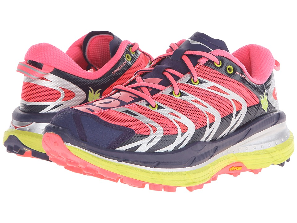 Hoka One One - Speedgoat (Astral Aura/Neon Pink) Women's Running Shoes