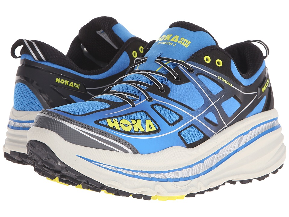 Hoka One One - Stinson 3 ATR (Directoire Blue/Citrus) Men's Running Shoes