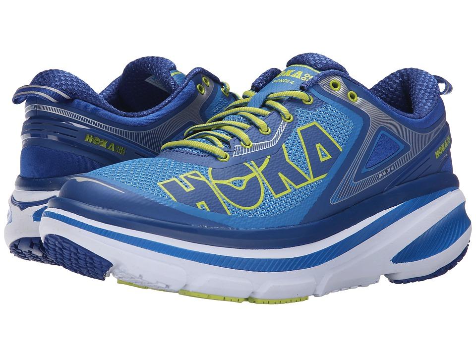 Hoka One One - Bondi 4 (Directoire Blue/True Blue) Men's Running Shoes