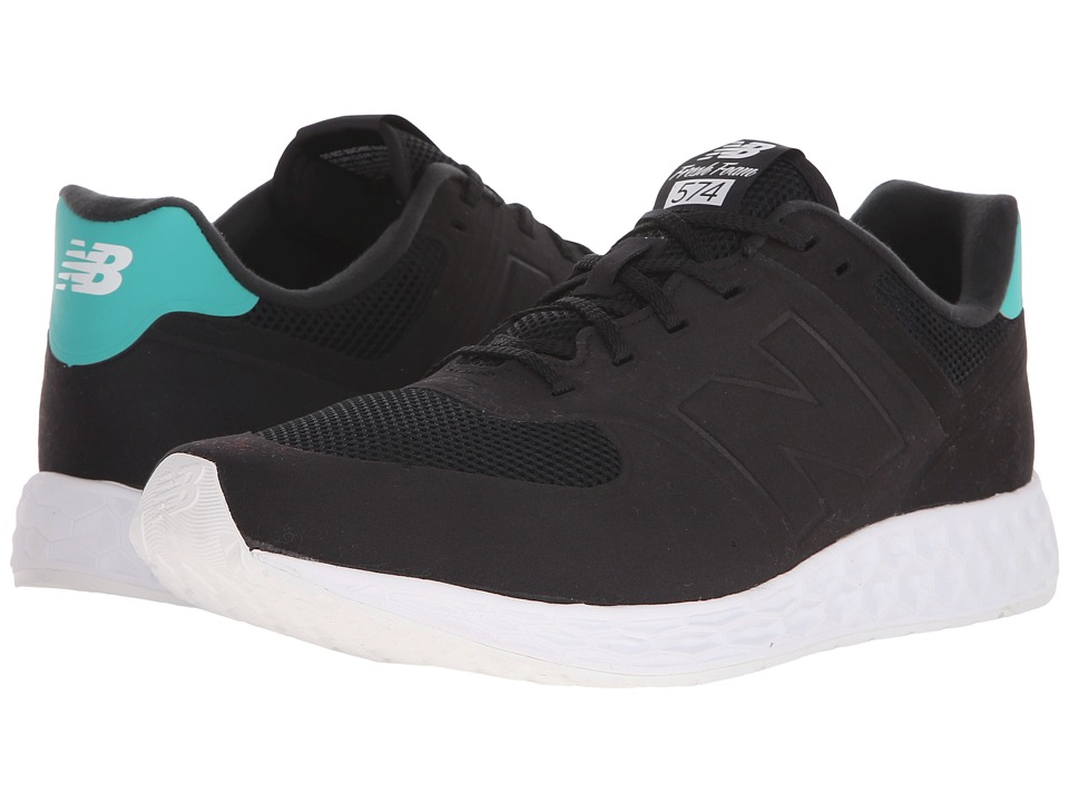 New Balance Classics - MFL574 (Black) Men's Classic Shoes