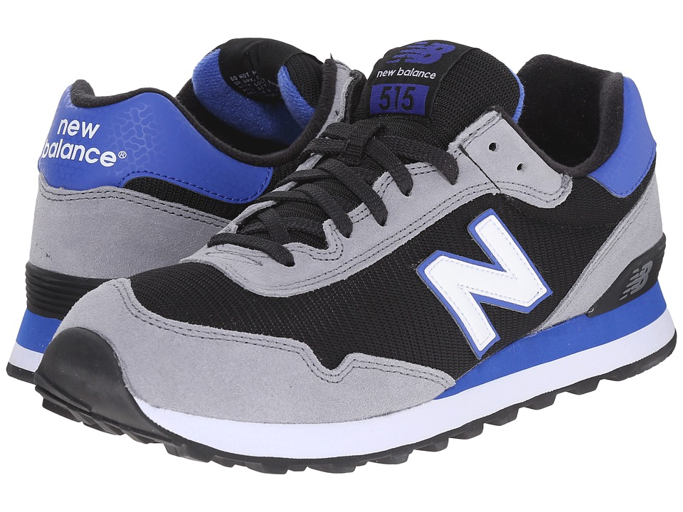 New Balance - ML515 (Black/Grey) Men's Classic Shoes