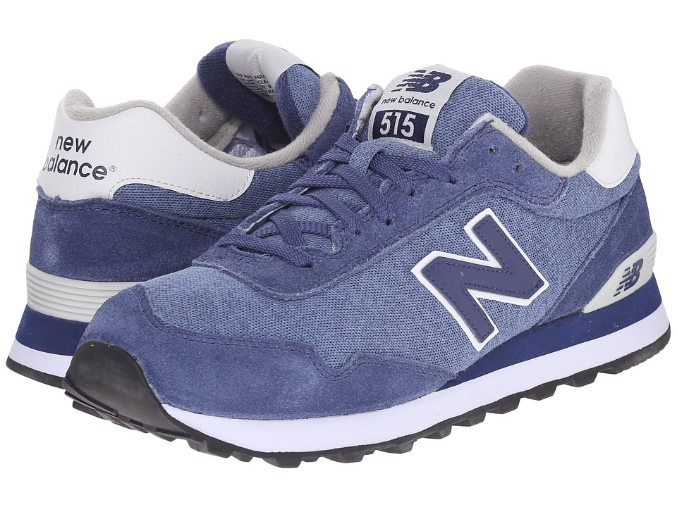 New Balance Classics - ML515 (Navy/White) Men's Classic Shoes