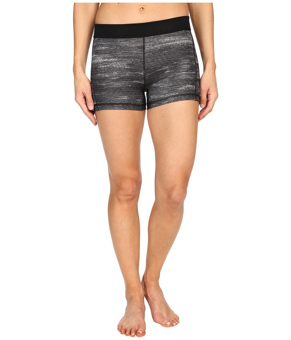 adidas - Techfit 3 Short Tights (Dark Grey Heather/Matte Silver) Women's Shorts
