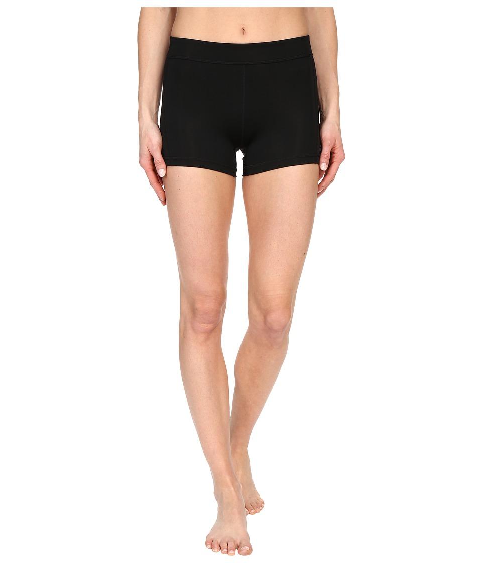 adidas - Techfit 3 Short Tights (Black/Matte Silver) Women's Shorts