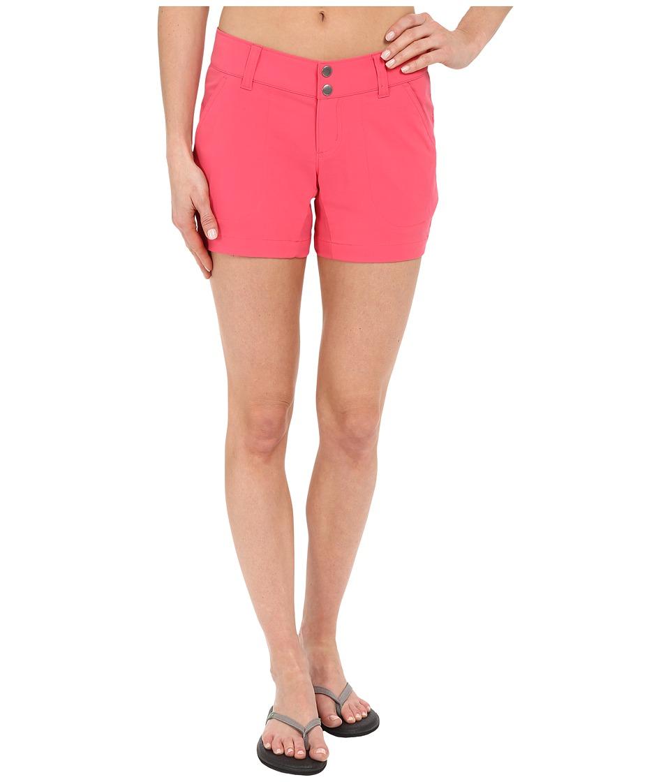 Columbia - Saturday Trail Short (Bright Geranium) Women's Shorts