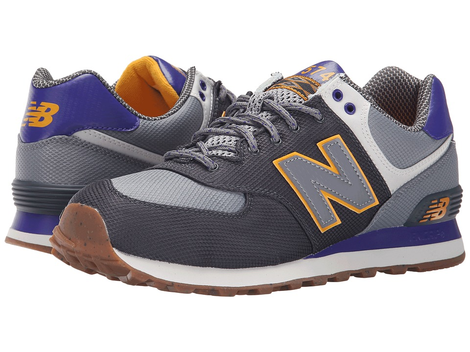 New Balance Classics - ML574 (Dark Grey) Men's Shoes
