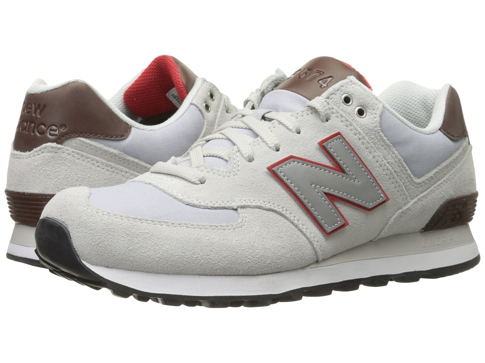 New Balance Classics - ML574 (Silver Mink) Men's Shoes