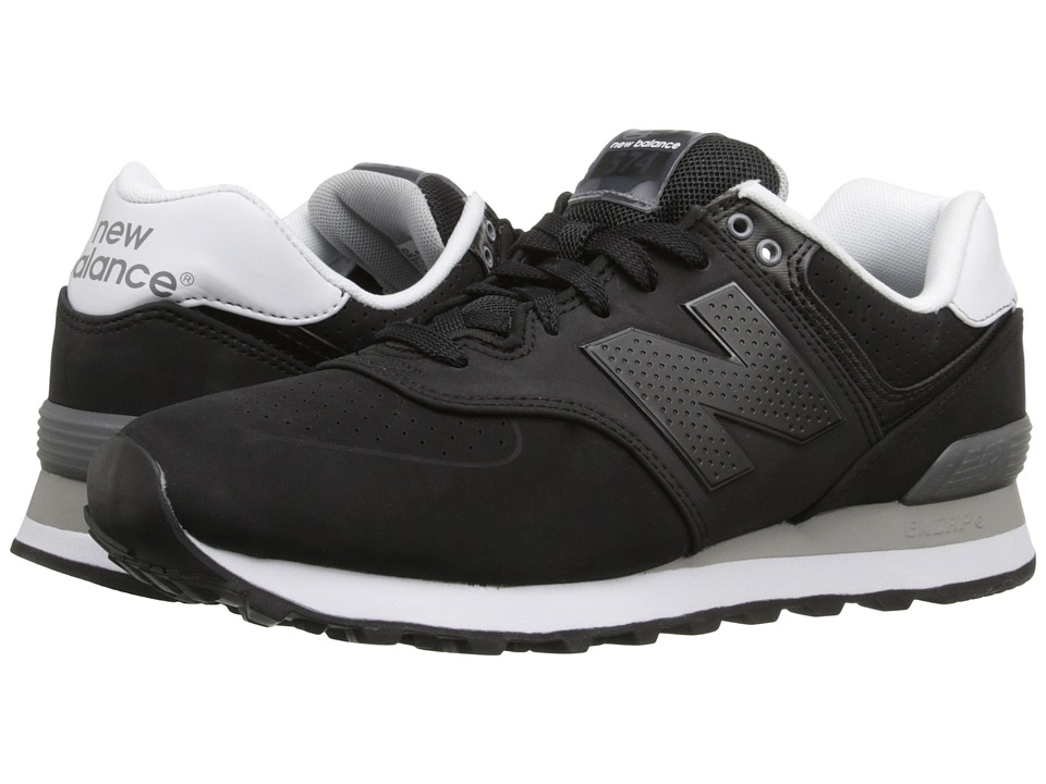 New Balance Classics - ML574 (Black) Men's Shoes
