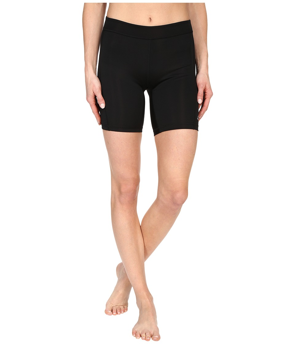 adidas - Techfit 7 Short Tights (Black/Matte Silver) Women's Shorts